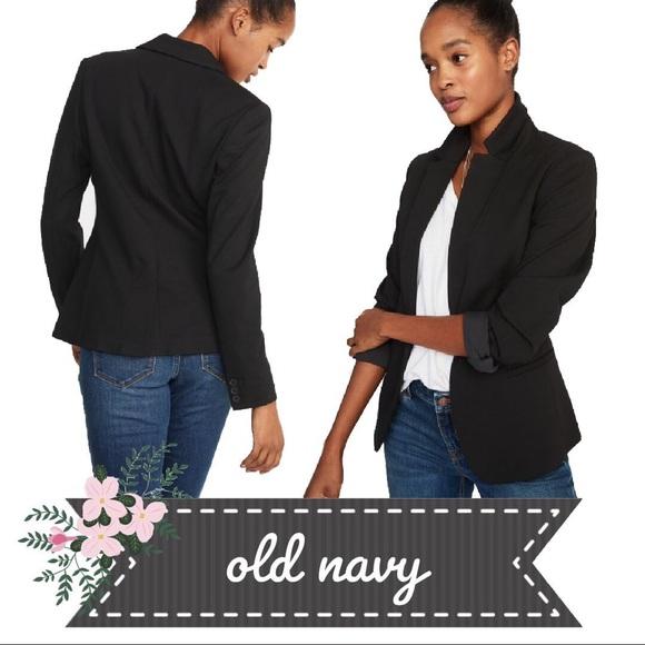 ddbb492aecef0 Old Navy Jackets & Coats | Nwt Classic Ponte Knit Singlebutton ...